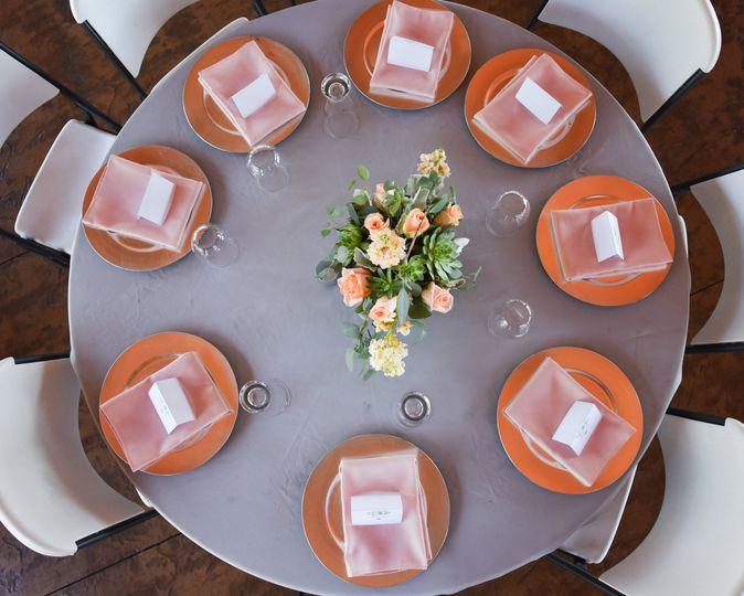 Table setting   Photo by Credit Madi May Photography
