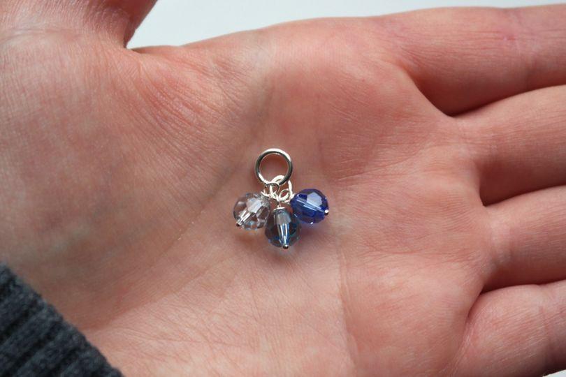 something blue triple drop pendant 1