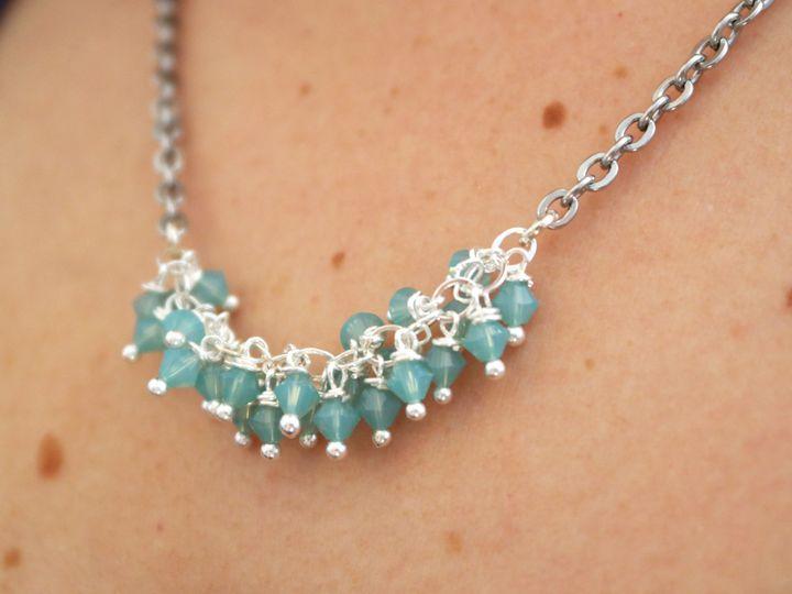 Tmx 1419017146616 Essential Cluster Necklace 4 San Marcos, CA wedding jewelry