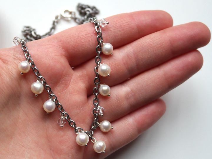 Tmx 1420784573739 Pearl Chain Necklace 5 San Marcos, CA wedding jewelry