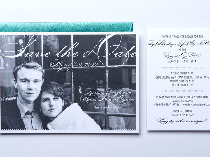 Tmx 1416270419769 Gallery4 Lancaster wedding invitation