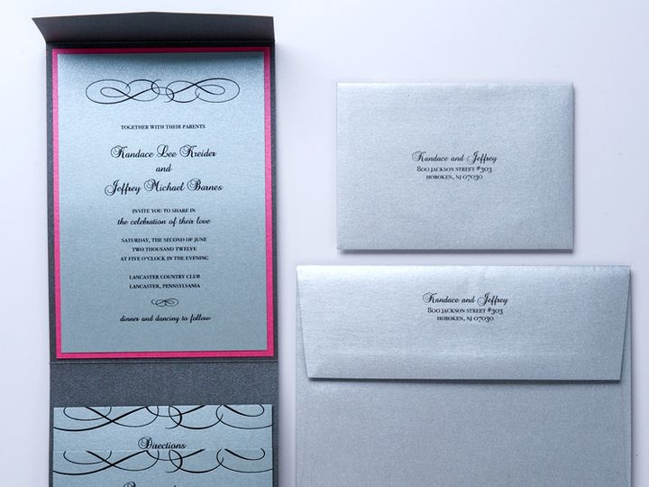 Tmx 1416270440661 Gallery7 Lancaster wedding invitation