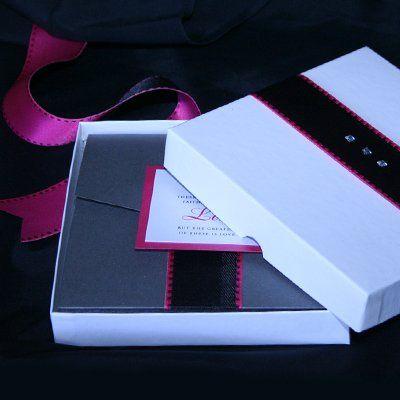 6x6 Boxed Invitation