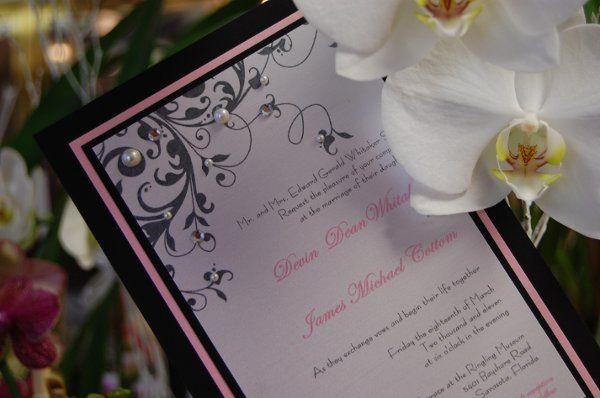 Tmx 1295993374355 Tiffany Bradenton wedding invitation