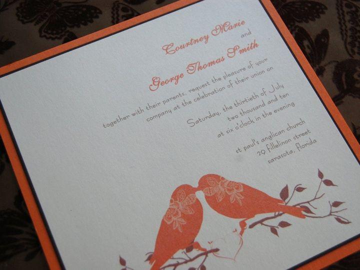 Tmx 1345493526101 DSC0445 Bradenton wedding invitation