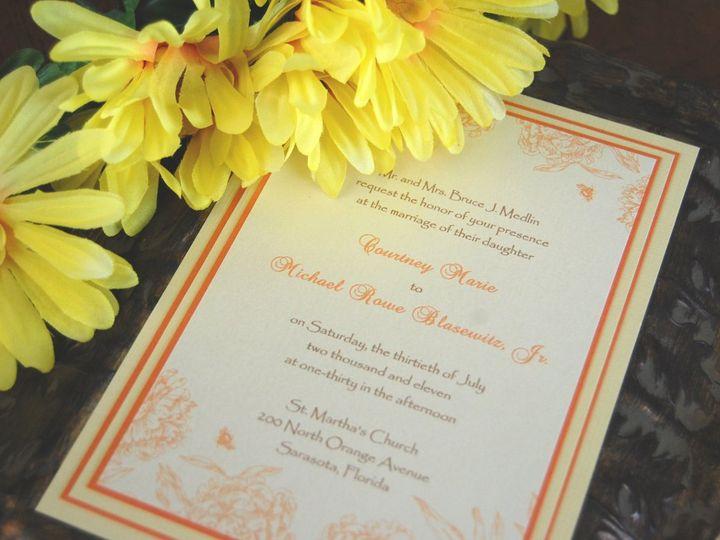 Tmx 1345493583741 DSC0422 Bradenton wedding invitation