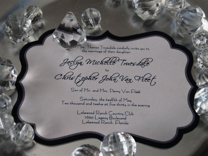 Tmx 1345493638510 DSC0334 Bradenton wedding invitation