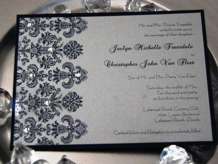 Tmx 1345493678432 DSC0339 Bradenton wedding invitation