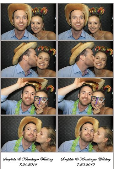 Perfect Photo Booth Strips!