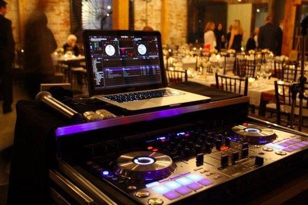 wedding set up one of many