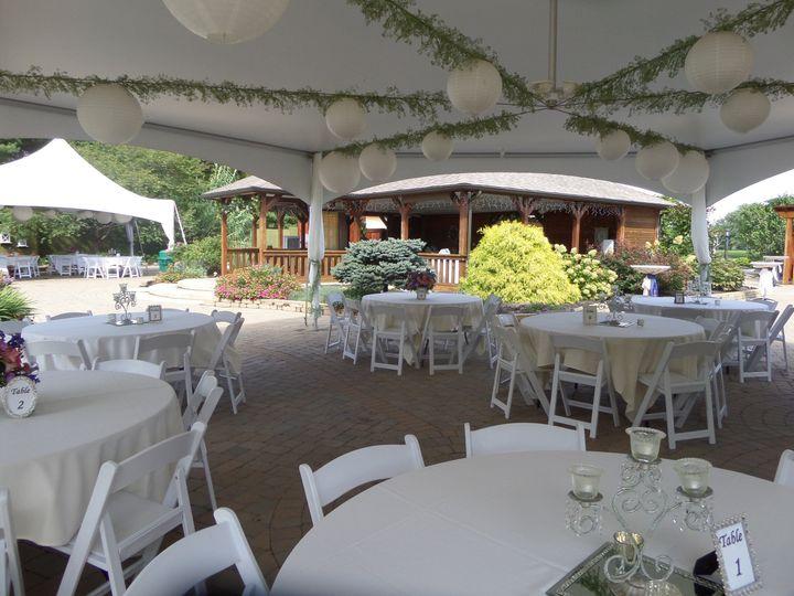 hex tent pavilion background