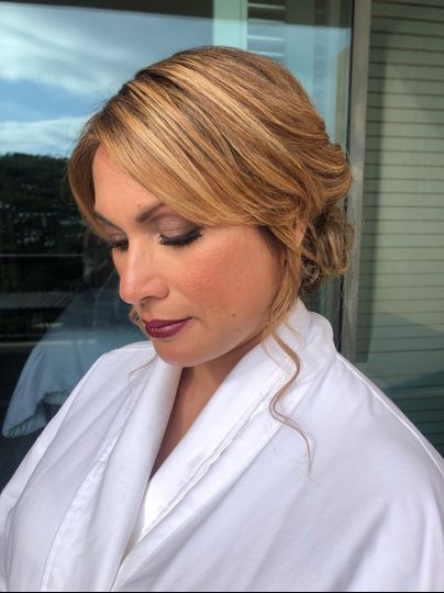 Natural Glam w/ Updo