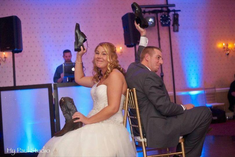 Wedding shoe game