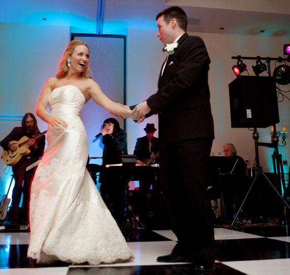 First newlywed dance
