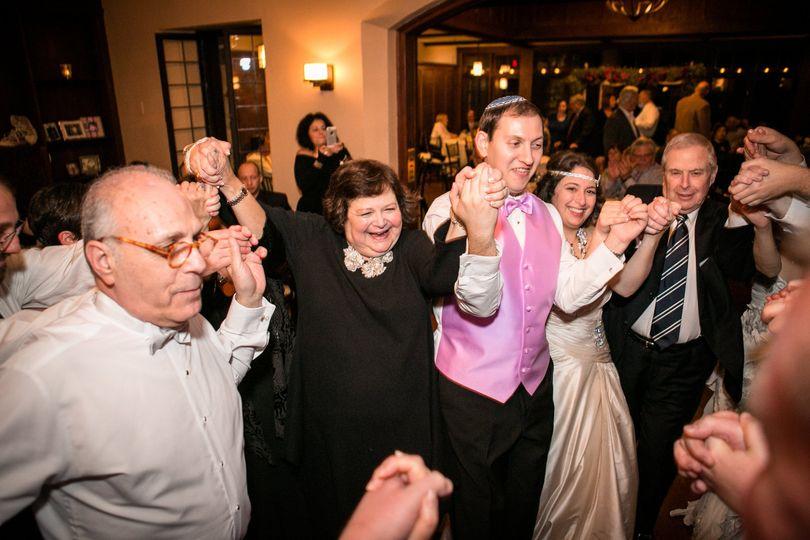 Family wedding celebration