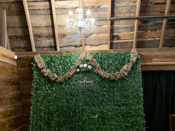 Tmx Rustic Ivy Backdrop Welcome To Our Wedding 51 1399601 160281624388737 Lake Elmo, MN wedding rental