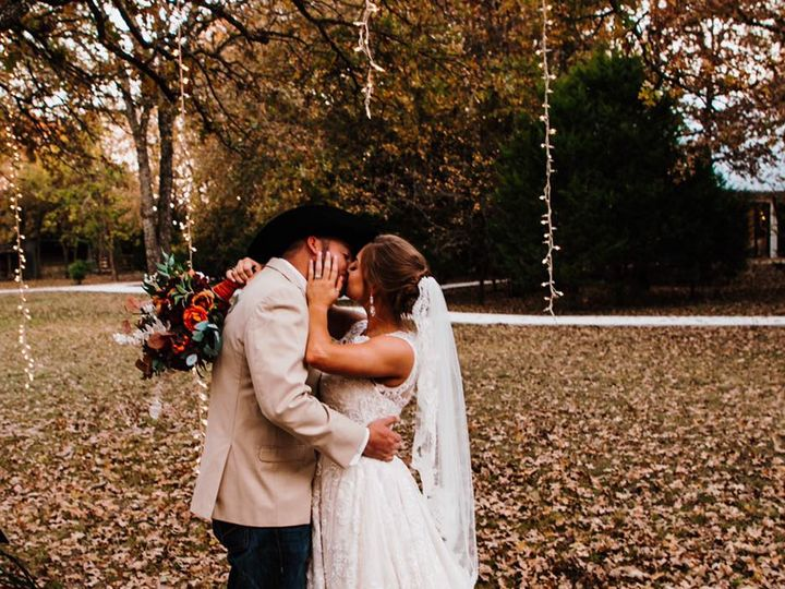 Tmx Bride And Groom Under The Trees 51 1780701 160687651891104 Decatur, TX wedding venue