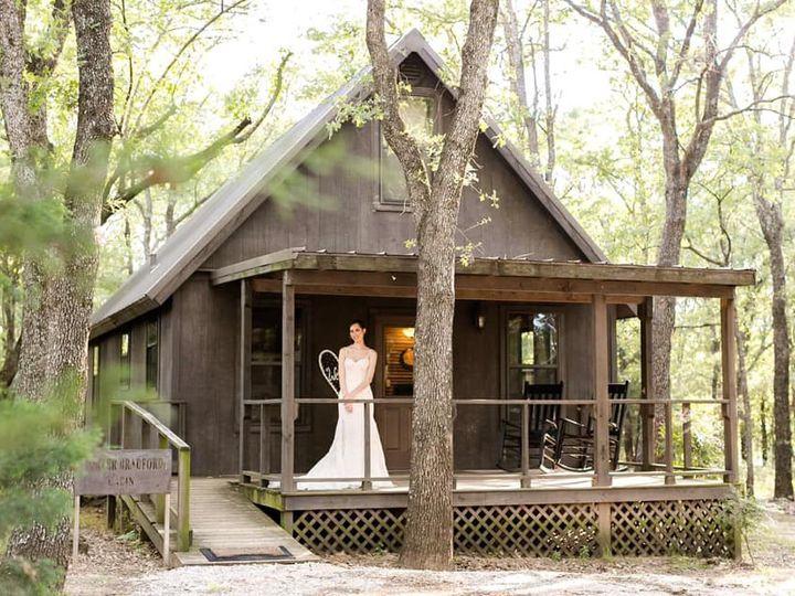 Tmx Bride In Front Of Cabin 51 1780701 160687653899710 Decatur, TX wedding venue
