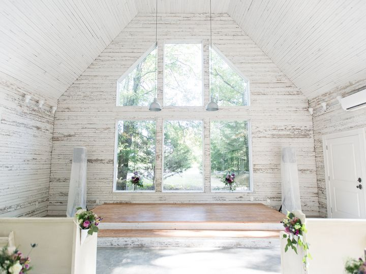 Tmx Chapel With Flowers On The Pews 51 1780701 161102481162795 Decatur, TX wedding venue
