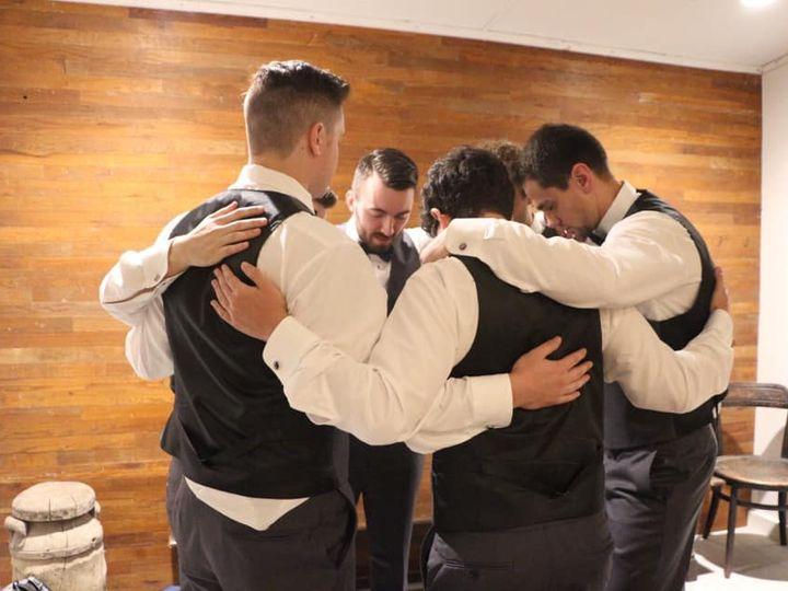Tmx Groom And Groomsmen In The Grooms Room 51 1780701 161066606256641 Decatur, TX wedding venue