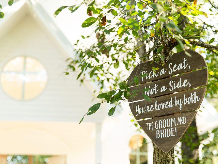 Tmx Sign In The Tree 51 1780701 161102585932577 Decatur, TX wedding venue