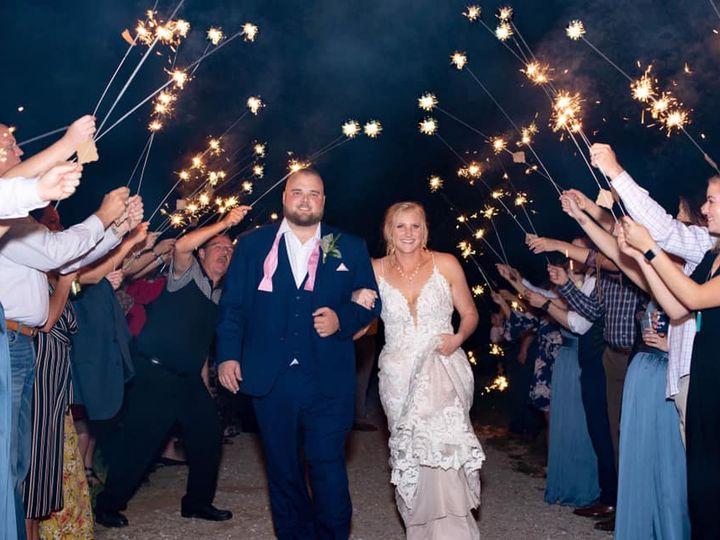 Tmx Sparkler Good Bye 51 1780701 161066434599599 Decatur, TX wedding venue