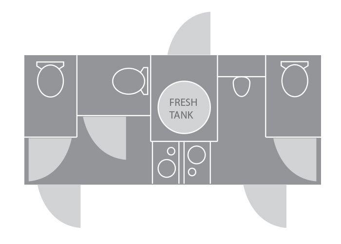 Floor plan of 4 Station