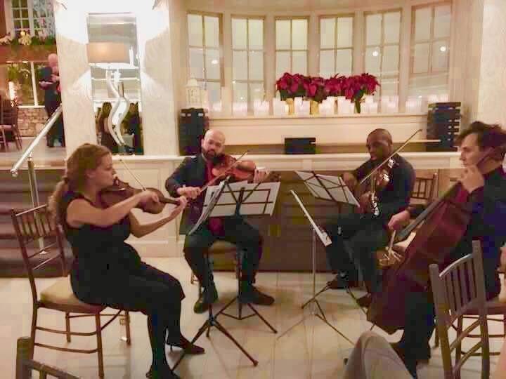 Classy string quartet ceremony