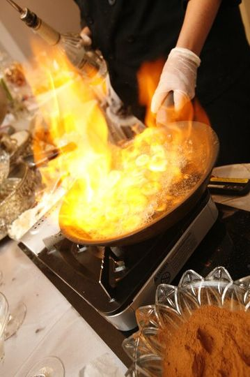 Flambe Action Station