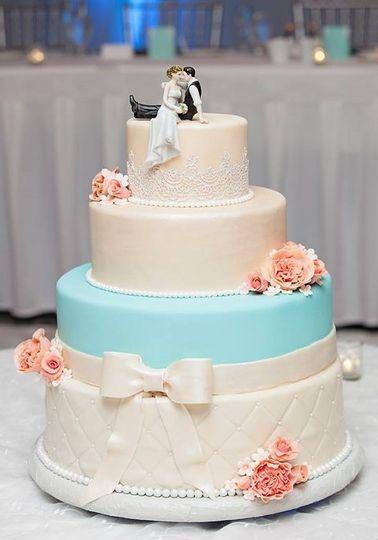 kevin kaits wedding cake