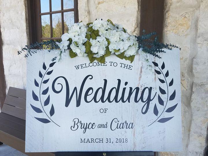 Tmx Welcome Sign Gerick Wedding 51 1742701 159673180213817 Richmond, TX wedding eventproduction