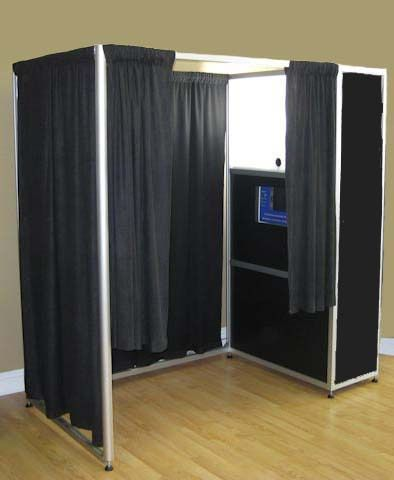 Traditional Enclosed booth
