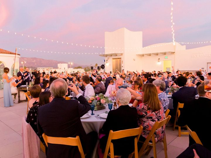 Tmx Sky Garden Guests Raising Their Glasses To Toast 2 Acos Nolin Wedding Ann Johnson Events James And Jess 51 976701 Santa Barbara, CA wedding venue