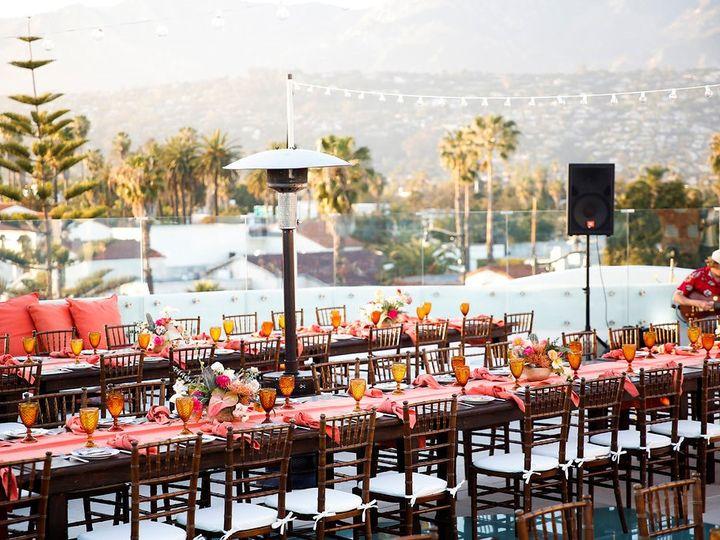 Tmx Sky Garden Tables And Lights Against Mountains Shaffer Amoroso Rehearsal Dinner Belathee Photography Ventura Rentals Islay 51 976701 1559588800 Santa Barbara, CA wedding venue