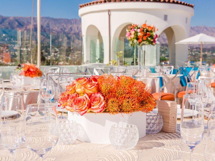 Tmx Sky Garden Wedding Table Layout Details With Tower Beautiful Day Photography 51 976701 Santa Barbara, CA wedding venue