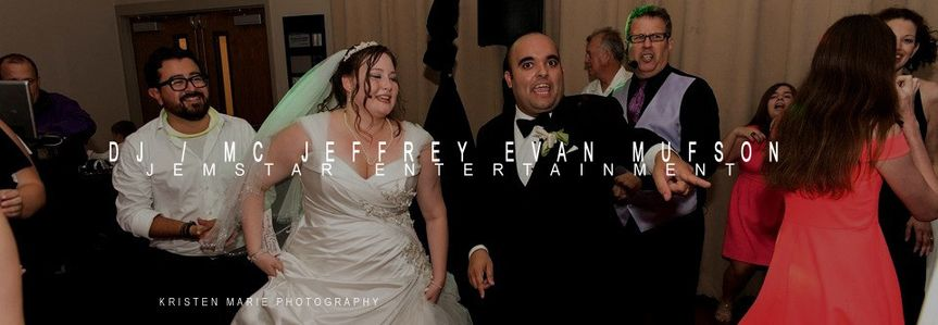 DJ/MC Jeffrey Evan Mufson / Jemstar Entertainment by Kristen Marie Photography