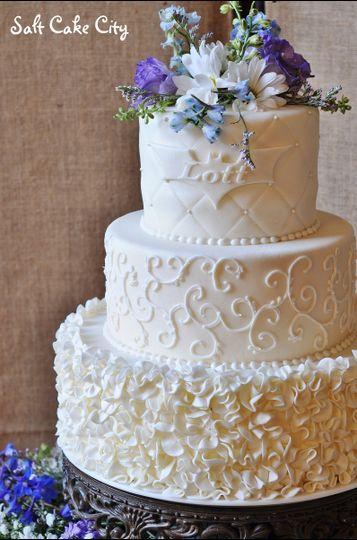 salt cake city wedding cake south jordan ut weddingwire. Black Bedroom Furniture Sets. Home Design Ideas