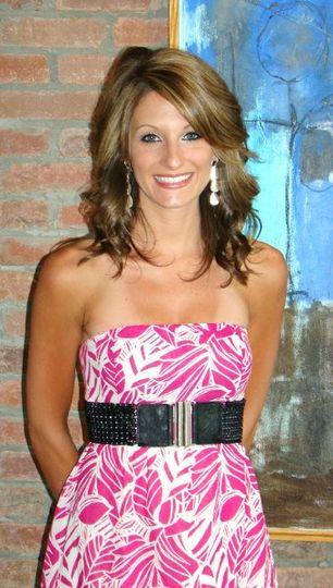 Wedding hair expert Megan Walters.