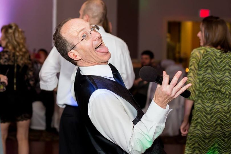 This is me having fun. Your guests will have more fun if the DJ is having fun -and showing it.