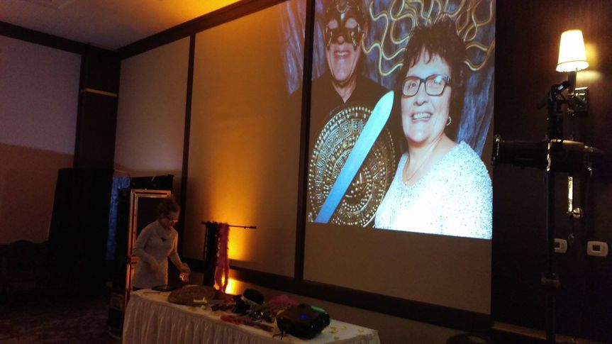 I can double the photo booth fun for your guests by projecting the images the booth takes in real...