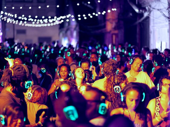Tmx 1483373472713 Silent Disco Outdoors Endicott, New York wedding dj