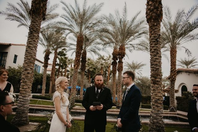 The Palm Garden Ceremony