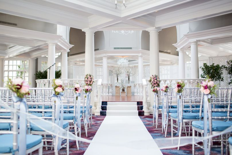 Ceremony in The Colonnade