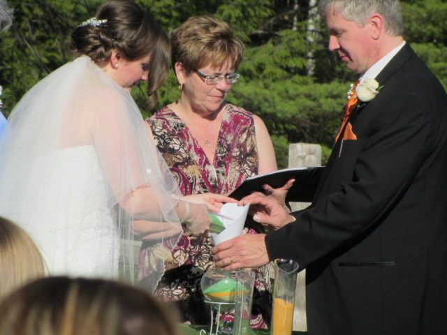 Tmx 1459947770889 Wendy And Jim Sand Ceremony 1 Somersworth, NH wedding officiant