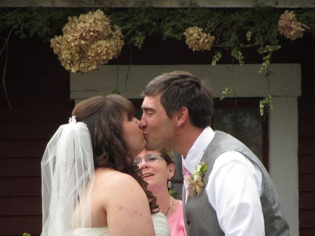 Tmx 1459947833298 Jame And Kim Kiss Somersworth, NH wedding officiant