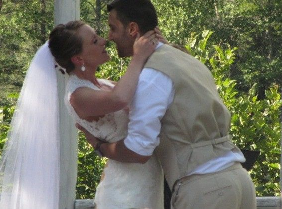 Tmx 1459948079093 Sarah And Michael Kiss Somersworth, NH wedding officiant
