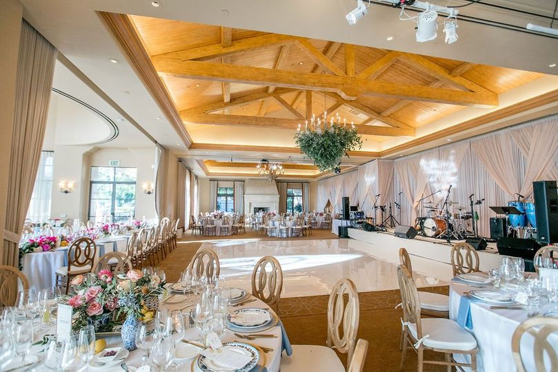 Beautiful ballroom design