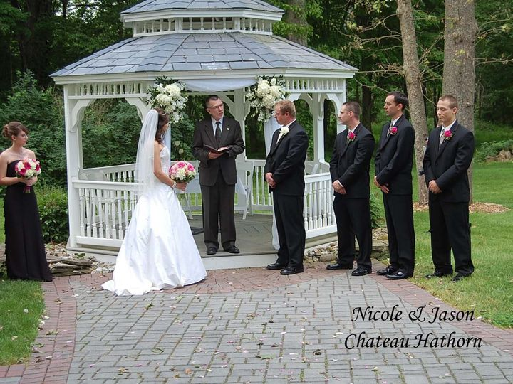 Tmx 1379700468029 Nicole  Jason  Chateau Hathorn Copy Monroe, NY wedding dj