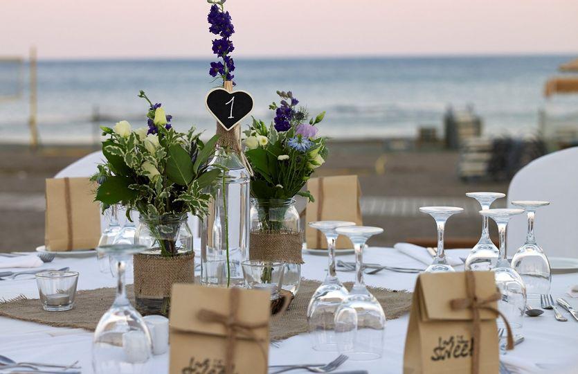 Ammades seaside restaurant