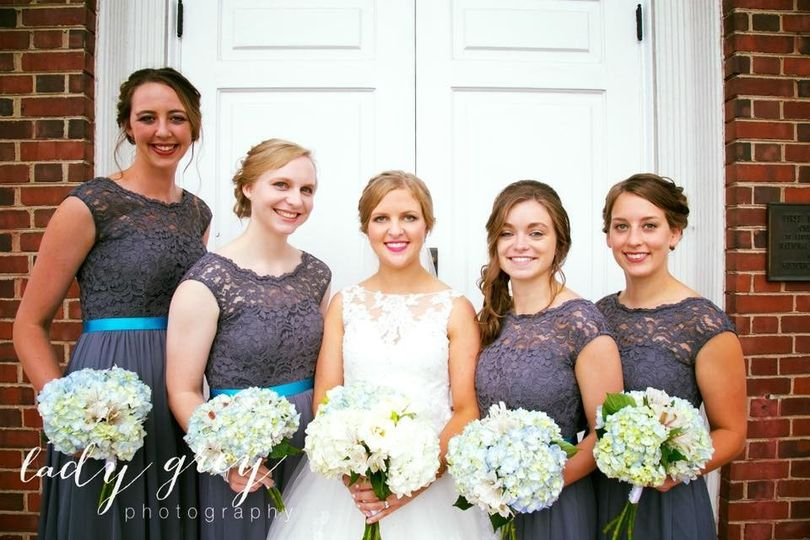 florist of omaha bridal party